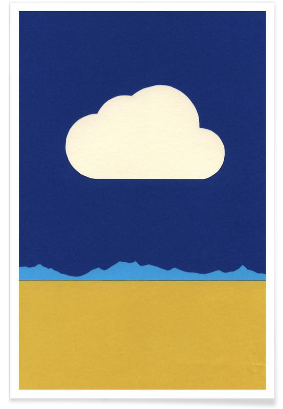 Cloud Over The Desert poster
