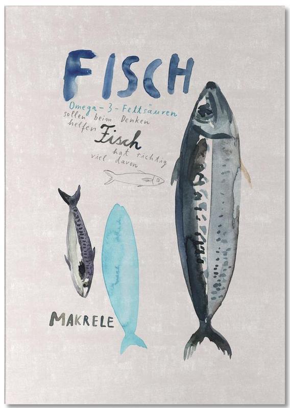 Fisch -Notizblock