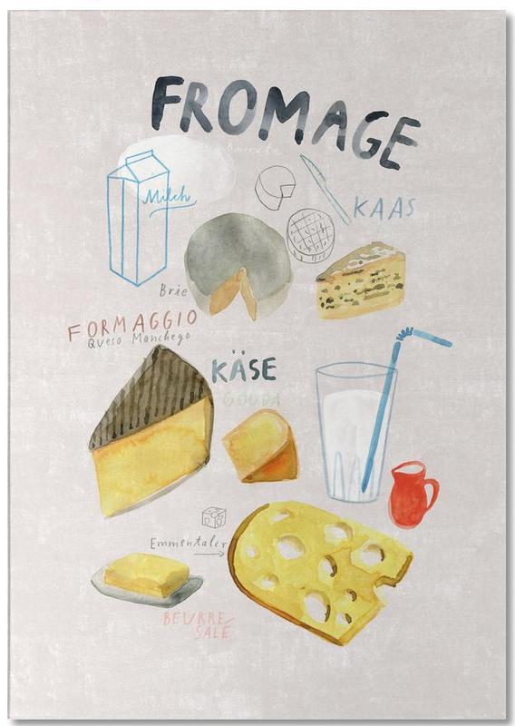 Käse -Notizblock