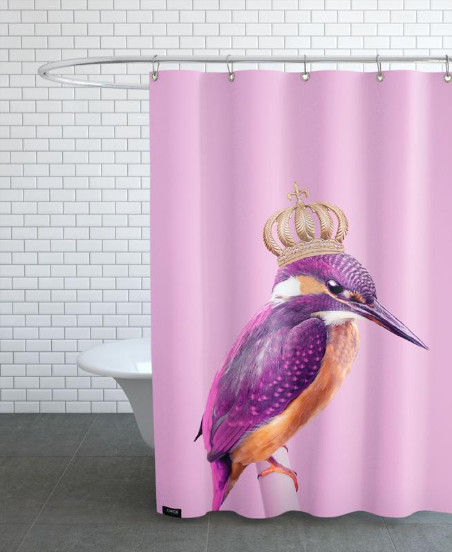 Queen Fisher Shower Curtain