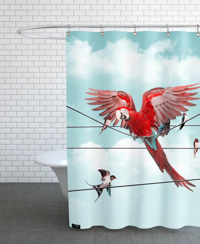 Colourful Stranger Shower Curtain