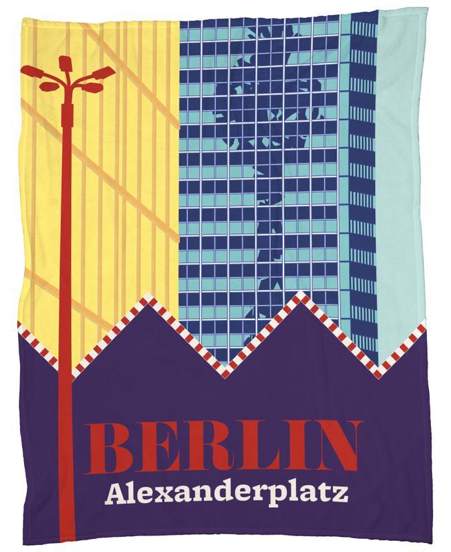 Berlin Alexanderplatz plaid
