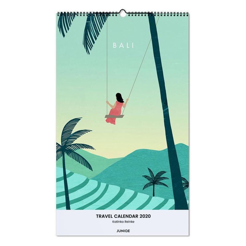 Travel Calendar 2020 - Katinka Reinke -Wandkalender