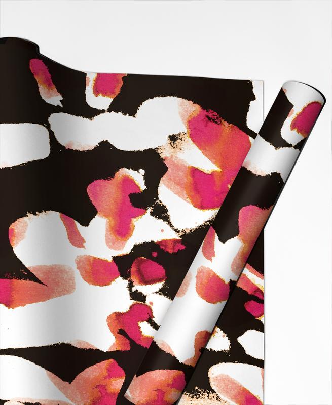 Floral Magenta -Geschenkpapier