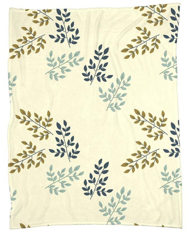 Twigs Light Fleece Blanket