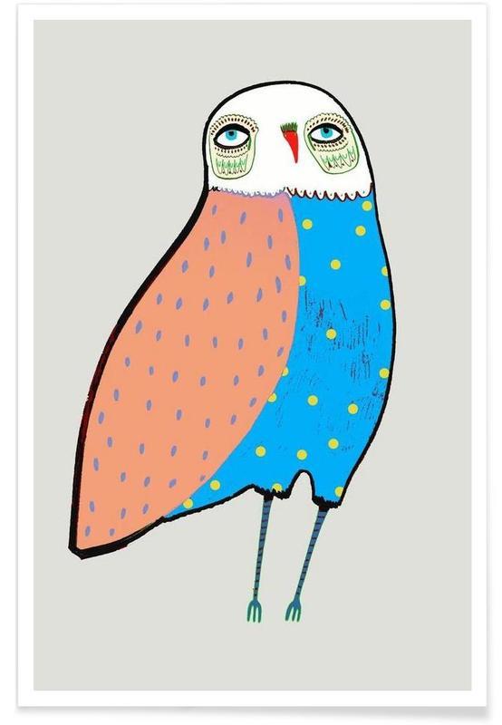 Owl lovely Poster