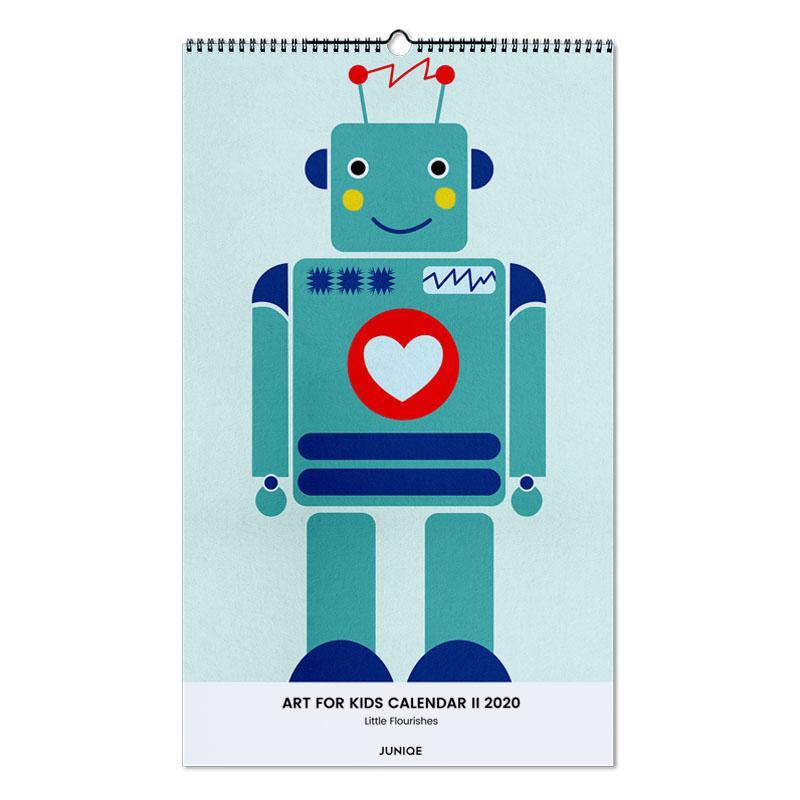 Art For Kids Calendar II 2020 - Little Flourishes Wall Calendar
