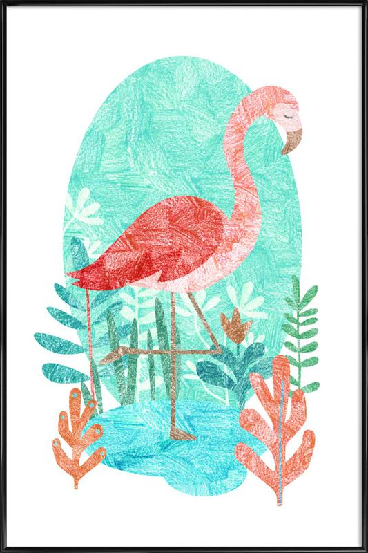 Flamingo Framed Poster