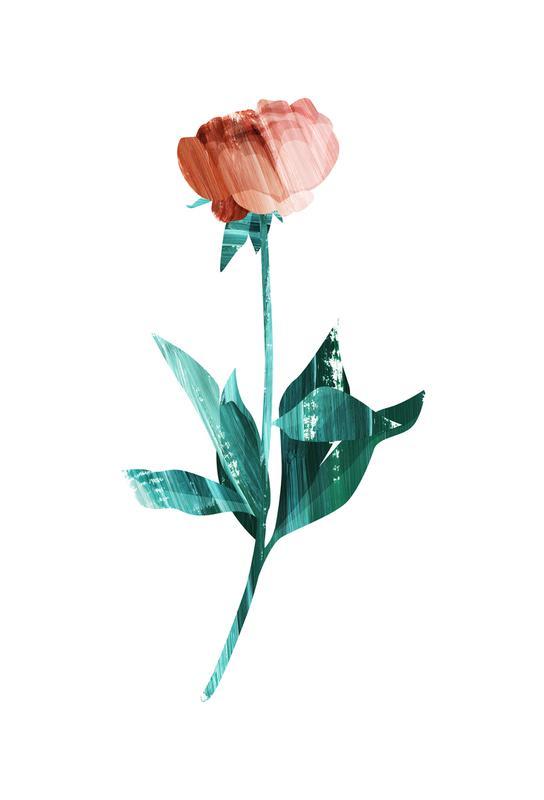 Flower Power -Acrylglasbild