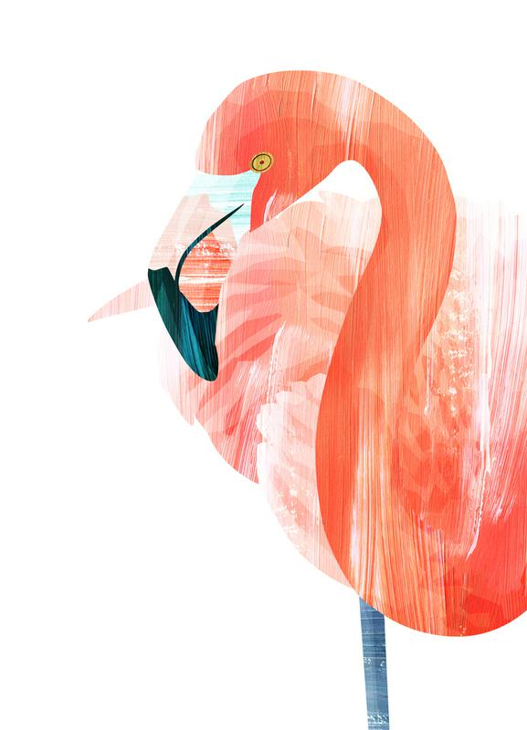 Pink Lady -Leinwandbild