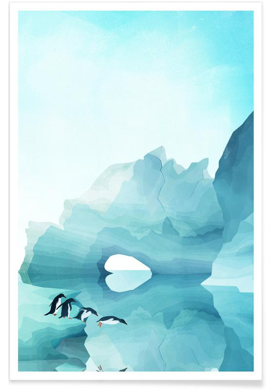 Penguins by Day -Poster