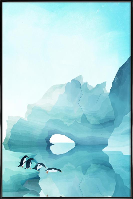Penguins by Day ingelijste poster