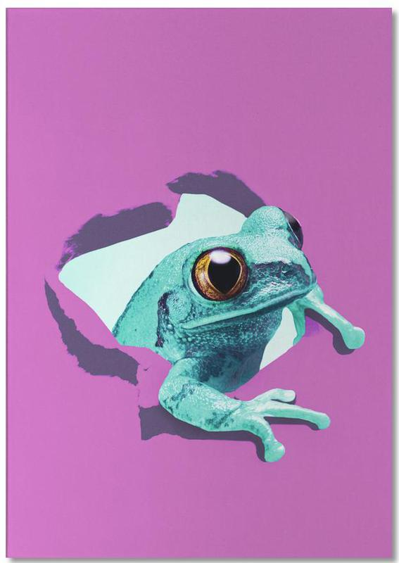 It's a frog Notepad