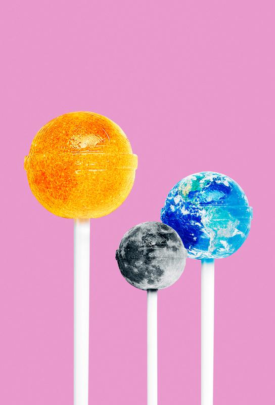 Lollipops Acrylic Print