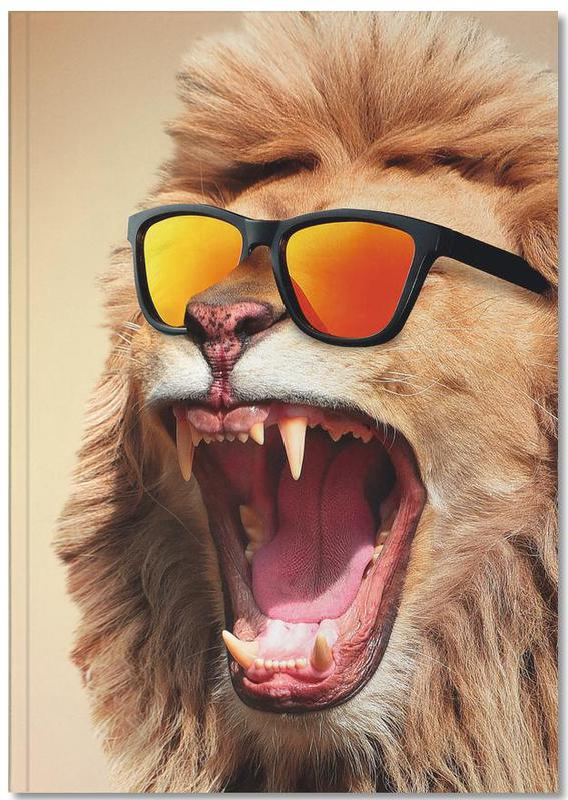 Sunny Lion Notebook