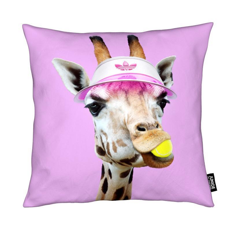 Tennis Giraffe coussin