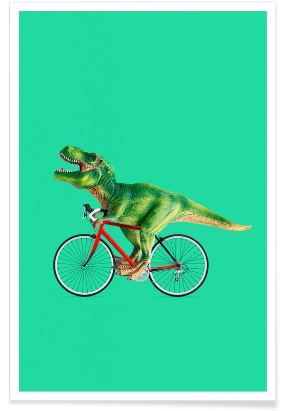T-Rex Bike poster