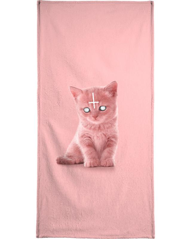 Lucipurr Beach Towel