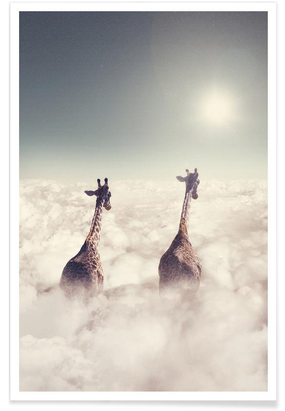Giant Giraffes -Poster