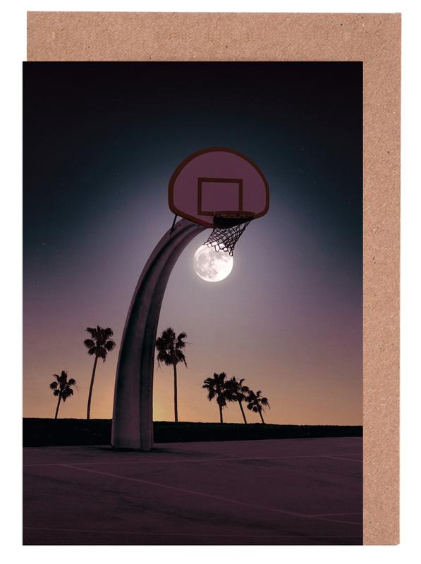 Basketmoon -Grußkarten-Set