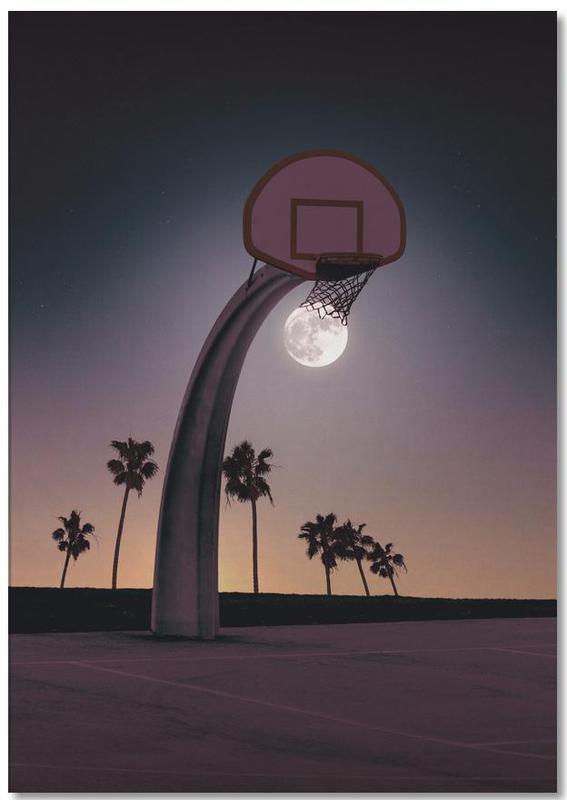 Basketmoon -Notizblock