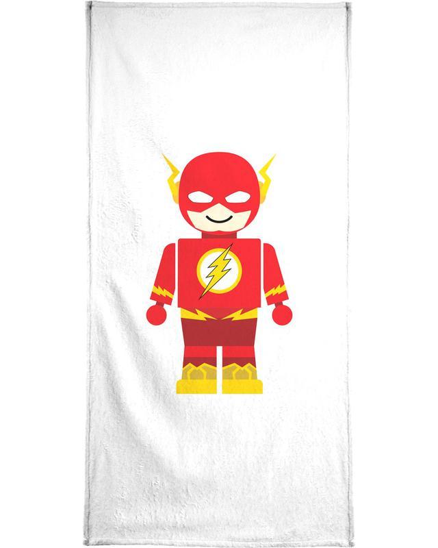 Flash Toy Bath Towel