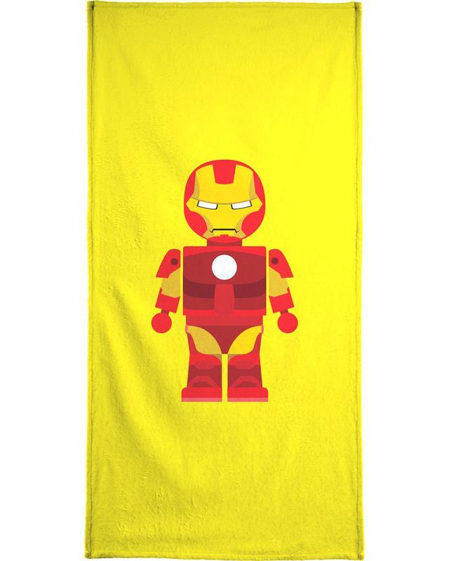 Iron Man Toy Bath Towel