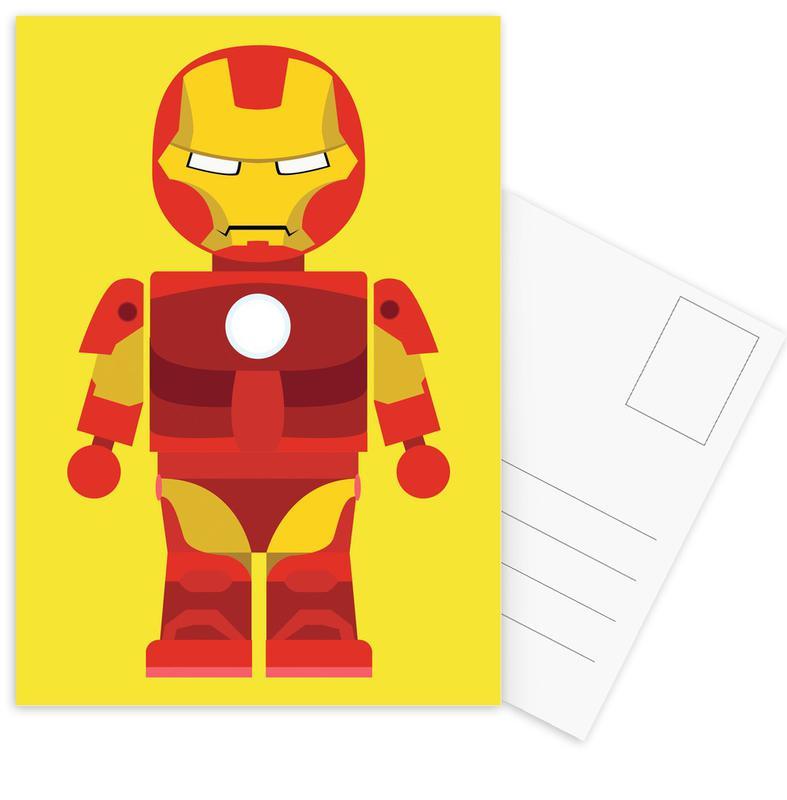 Iron Man Toy cartes postales