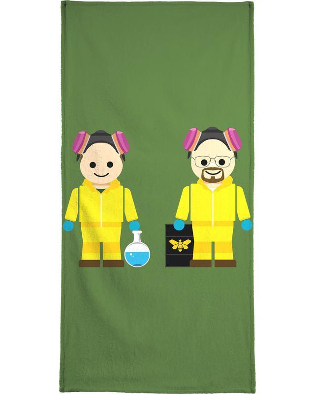 Pinkman and Heisenberg Toy Bath Towel