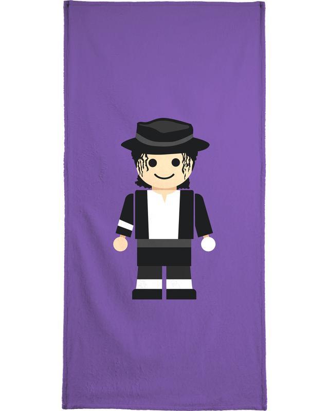 Michael Jackson Toy Bath Towel