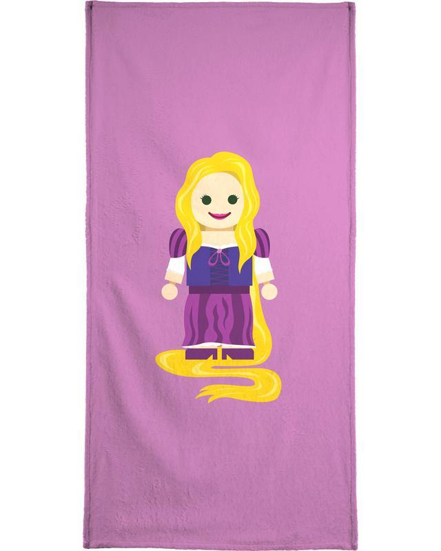 Rapunzel Toy Bath Towel