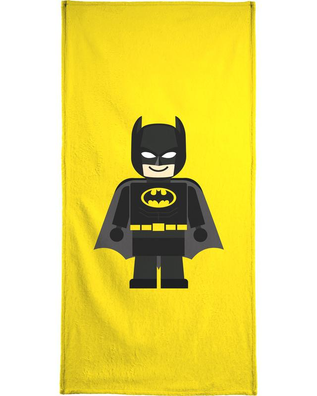 Batman Toy Bath Towel