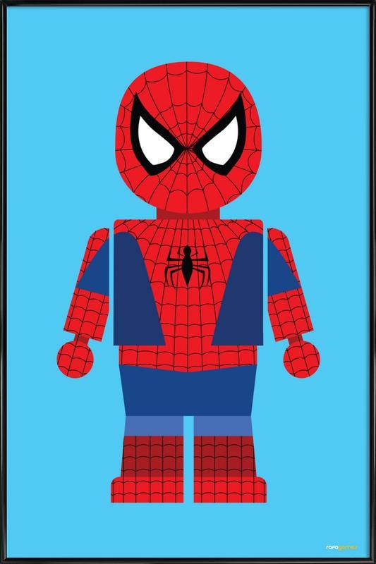 Spiderman Toy affiche encadrée