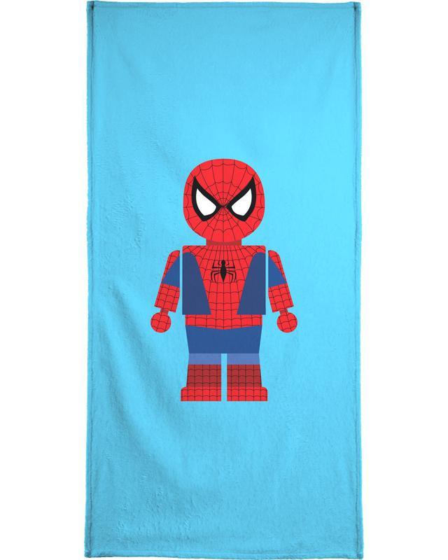 Spiderman Toy Bath Towel