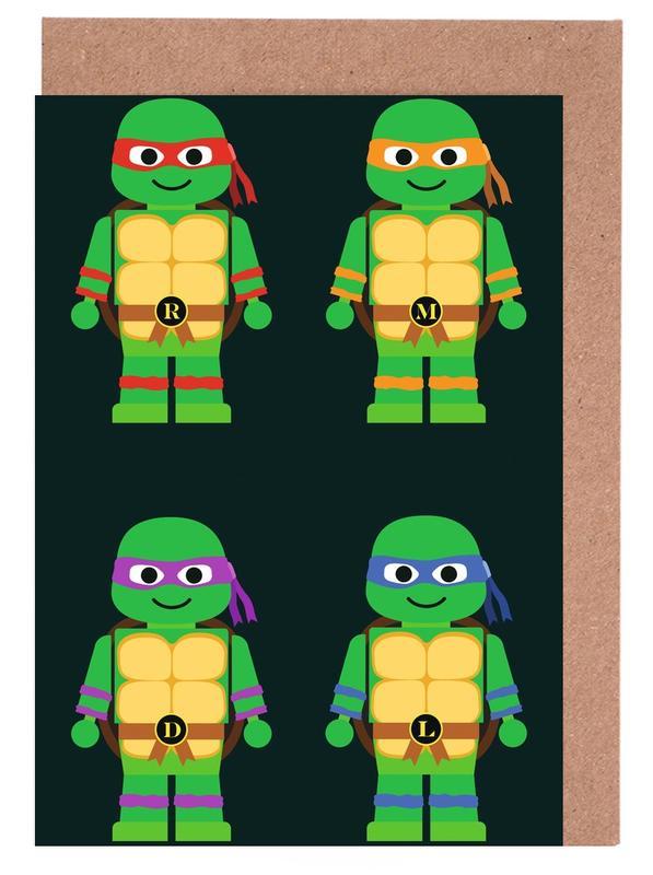 Teenage Mutant Ninja Turtles Greeting Card Set