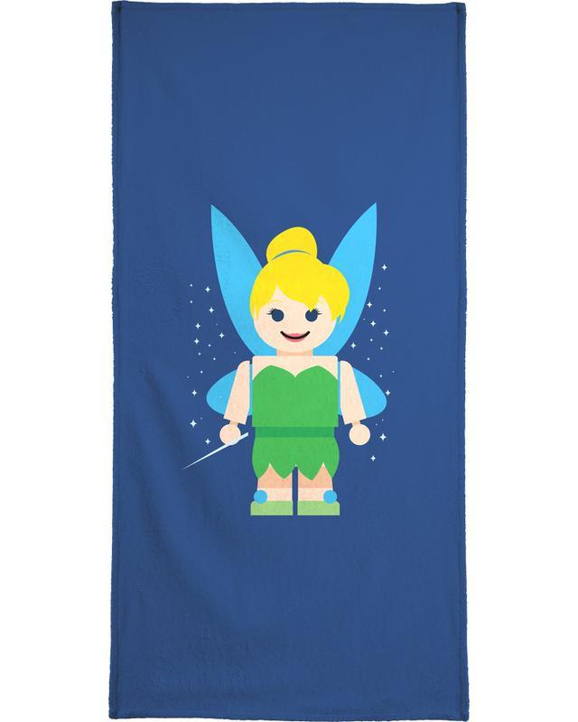 Tinkerbell Toy Bath Towel