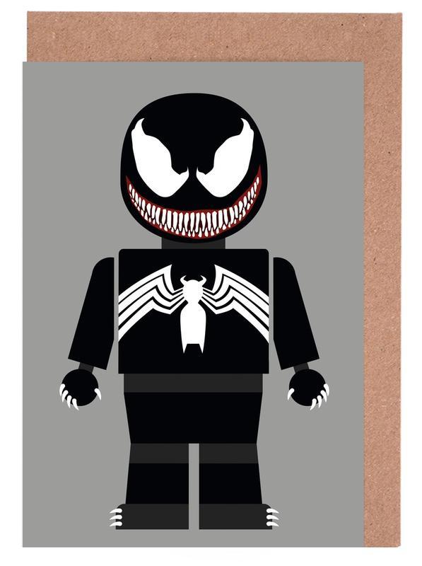 Venom Toy Greeting Card Set