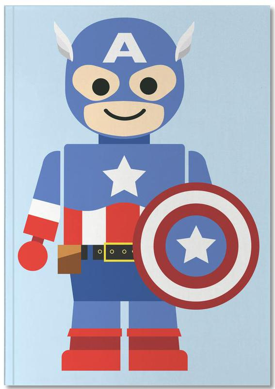 Captain America Toy Notebook