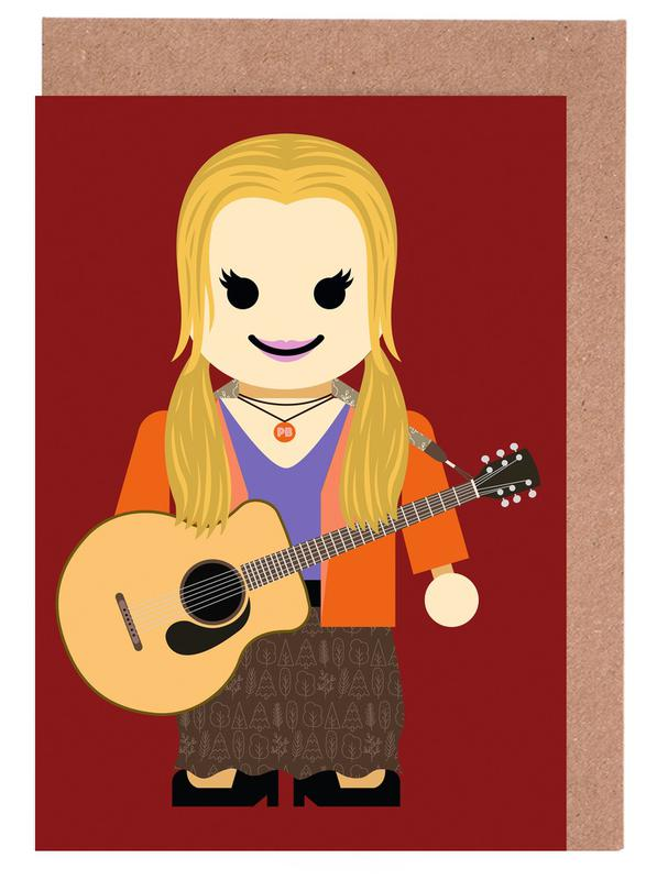 Phoebe Buffay Toy Greeting Card Set