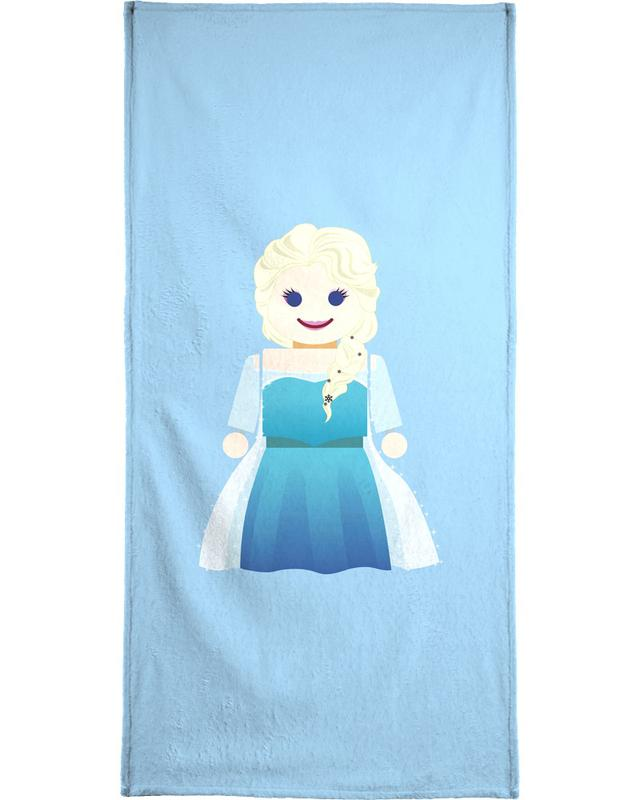 Elsa Frozen Toy Bath Towel