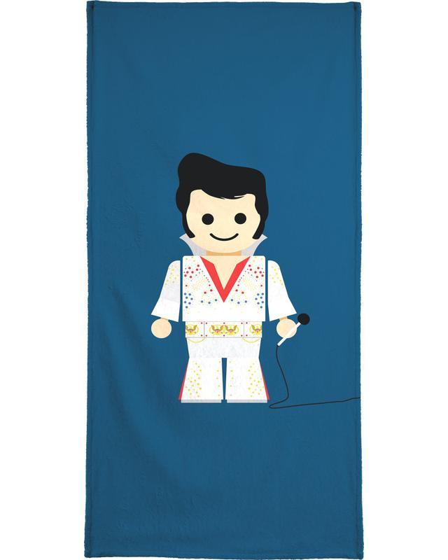Elvis Toy Bath Towel