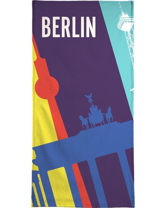 Berlin Icons Bath Towel