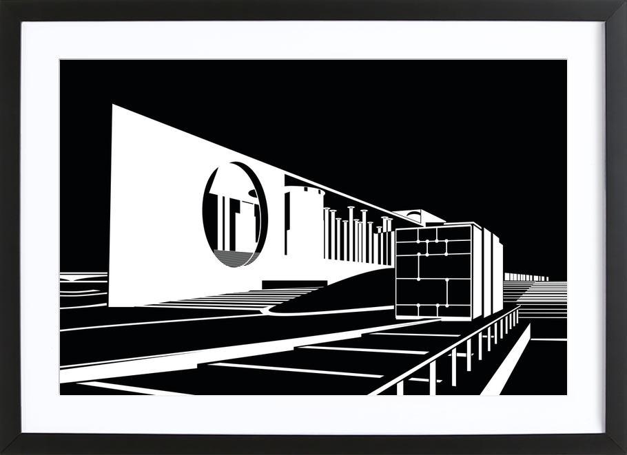Bundeskanzleramt Framed Print
