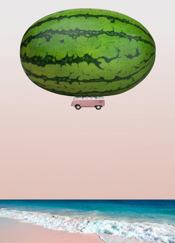 Melon Ship Canvas Print