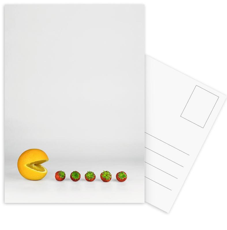 Pacman -Postkartenset