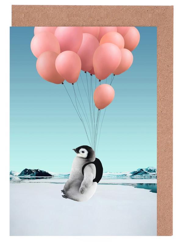 Penguin -Grußkarten-Set
