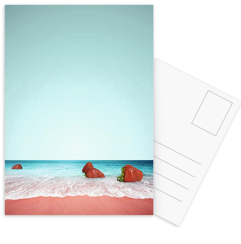 Strawberry Shores -Postkartenset