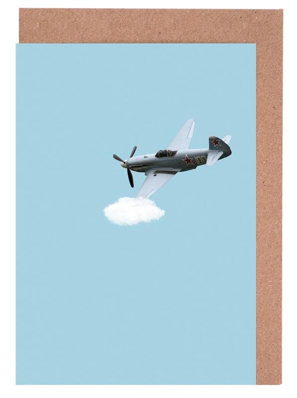 Fly -Grußkarten-Set