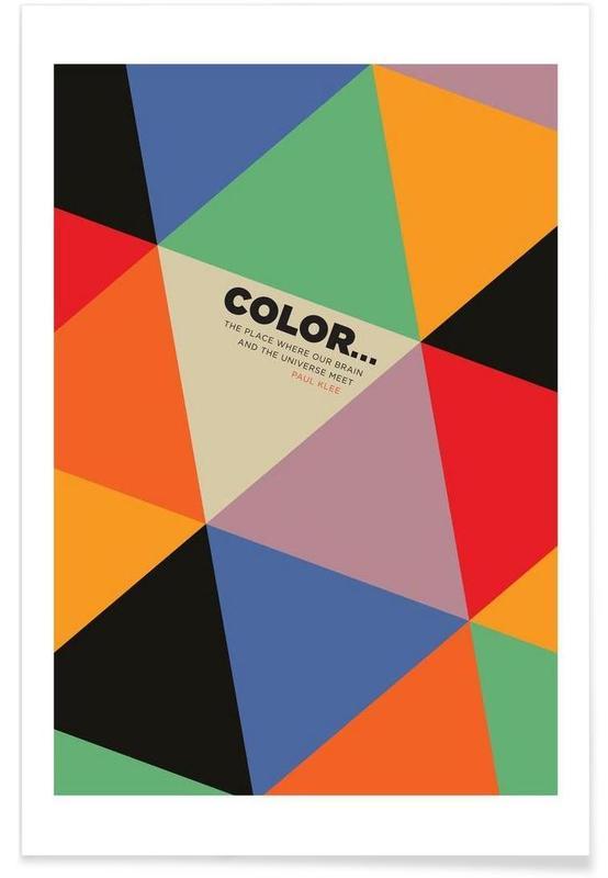 Harlequin Klee -Poster