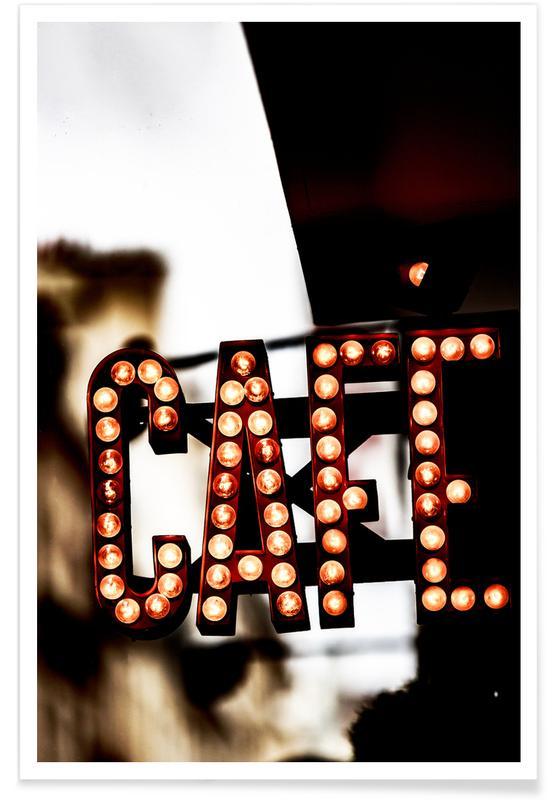 Café -Poster